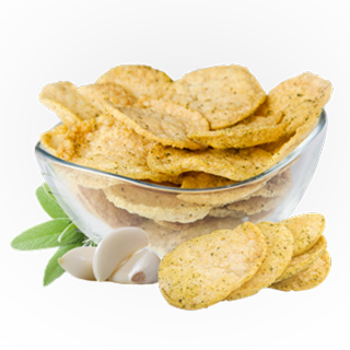 Ideal Protein products - Garlic-and-Fine-Herbs-Soy-Crisps