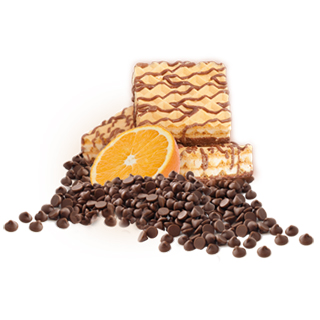 Ideal Protein products - Orange-Wafers