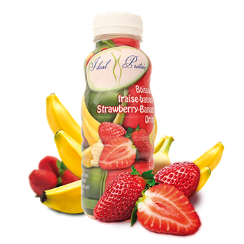 Ideal Protein products - Ready Made Strawberry-Banana Drink