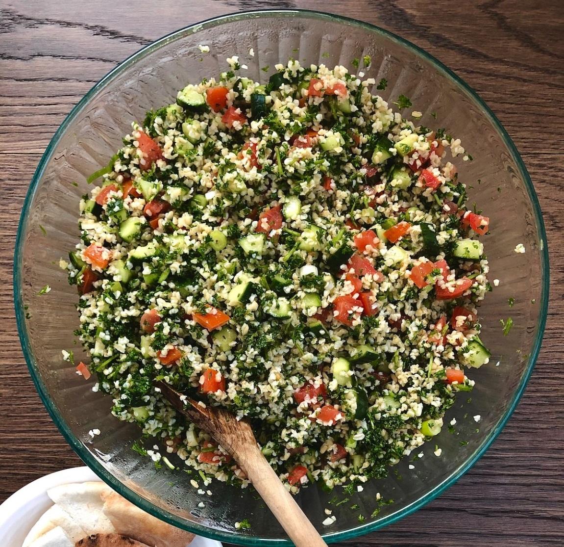 Winter Tabbouleh recipe